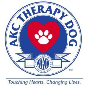 AKC Therapy Dog Logo