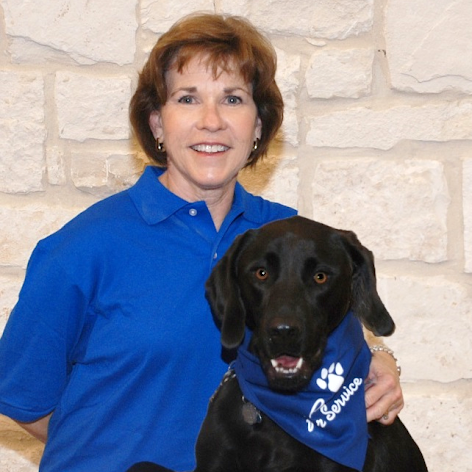 PAWS for Service Vice President Anne and Beau