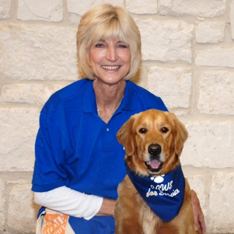 PAWS for Service READ Coordinator Bernie and Hailey