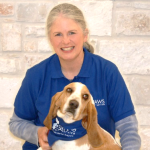 PAWS for Service Training Coordinator Jennifer and Boone