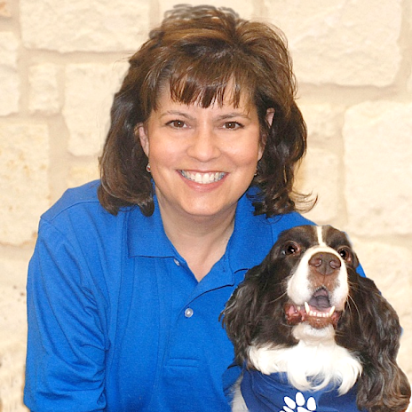 PAWS for Service President Lynnette and Emmie
