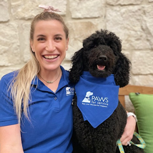 PAWS for Service Mentor Coordinator Nicole and Annie